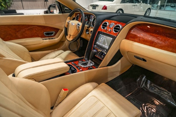 Used-2013-Bentley-Continental-GTC-BACK-UP-CAMERA-VENEER-INSERTS-20-INCH-CHROME-WHLS-ONLY-30K-MILES