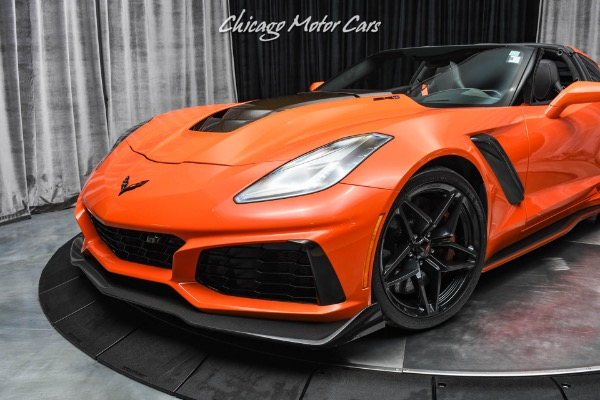 Used-2019-Chevrolet-Corvette-ZR1-3ZR-Sebring-Orange-Design-Package-Only-1700-Miles
