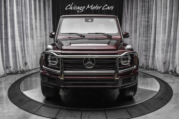 Used-2021-Mercedes-Benz-G550-4-Matic-SUV-Rare-Rubellite-Red-Delivery-Miles-AMG-Line-Package