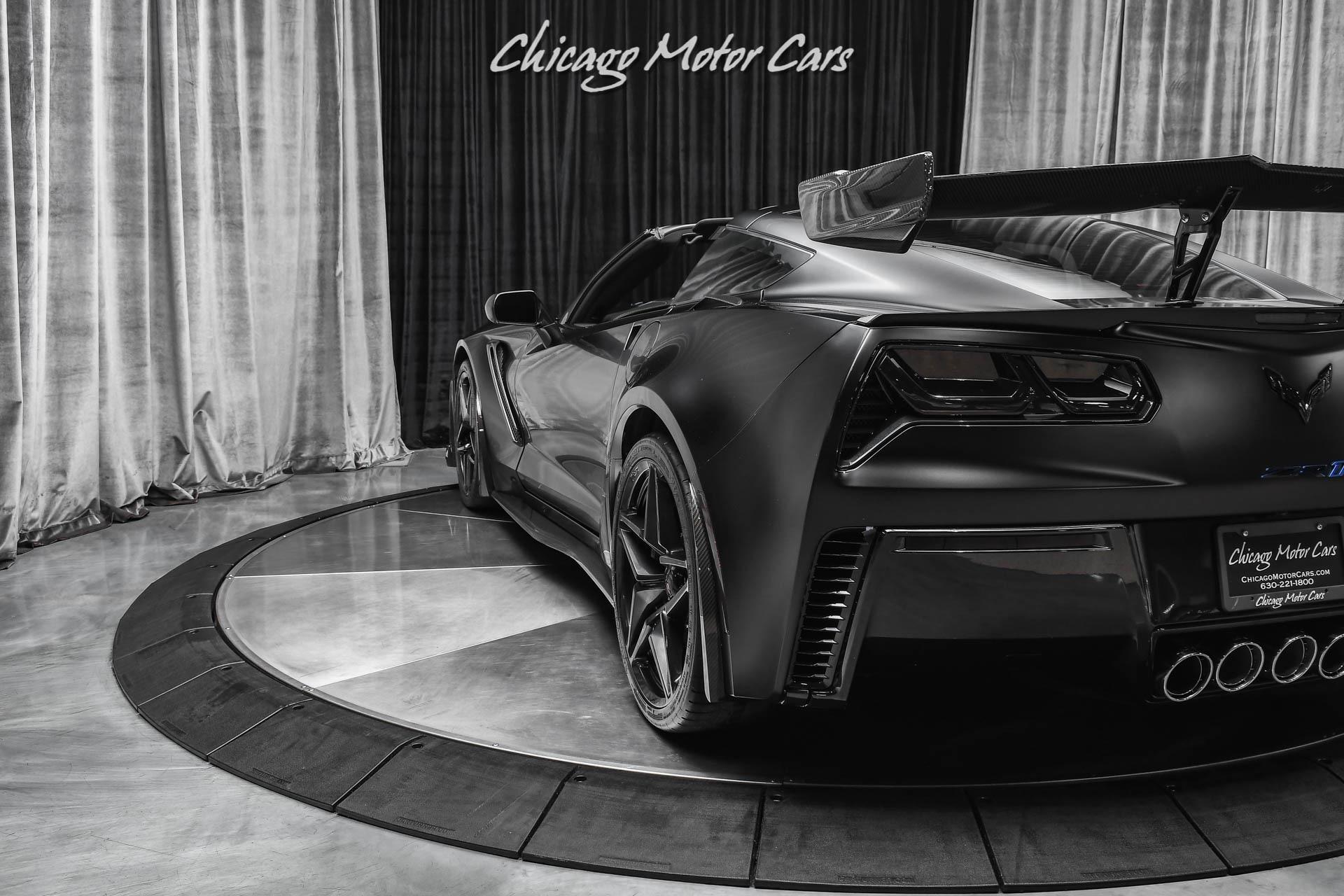Used-2019-Chevrolet-Corvette-ZR1-MANUAL-TRANSMISSION-LOW-MILES-SATIN-PPF