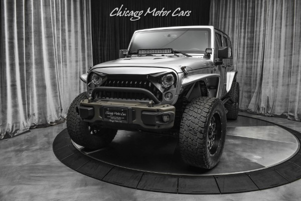 Used-2017-Jeep-Wrangler-Unlimited-4x4-75th-Anniversary-XD-Series-Wheels-Huge-Upgrades-Leather
