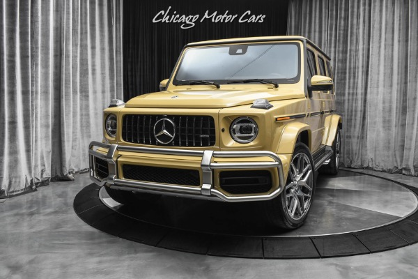 Used-2019-Mercedes-Benz-G63-AMG-4MATIC-RARE-Desert-Sand-Paint-Exclusive-Interior-Package