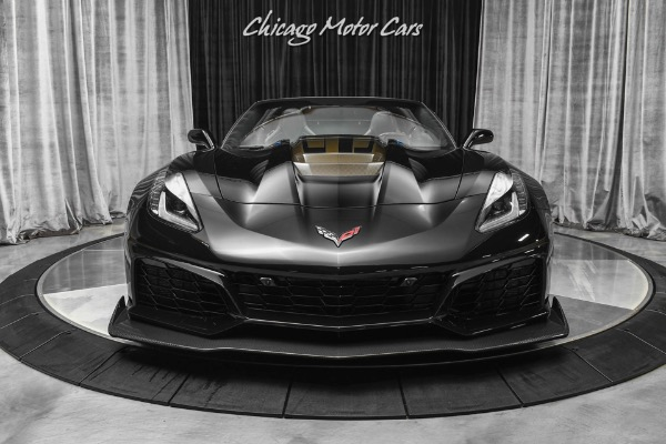 Used-2019-Chevrolet-Corvette-ZR1-3ZR-900-Horsepower-X-Pipe-and-Pulley-Only-7800-Miles