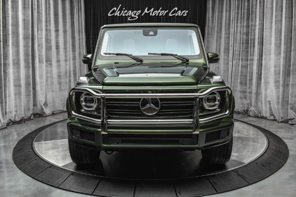 Used-2021-Mercedes-Benz-G550-4MATIC-RARE-Olive-Metallic-Paint-Exclusive-Interior-Package-PLUS