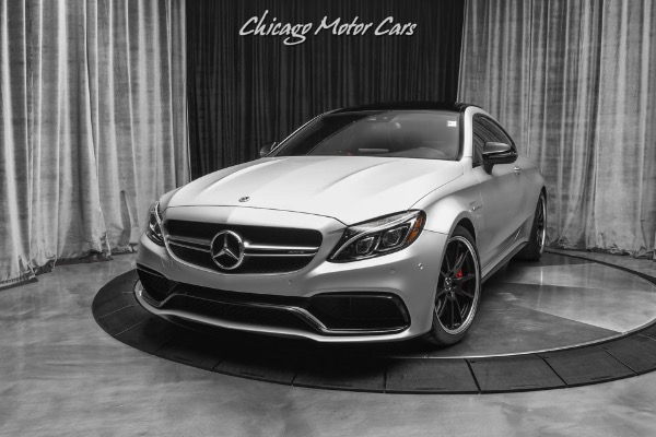 Used-2018-Mercedes-Benz-C-Class-C63-S-AMG-Coupe-ONE-OWNER-12K-MILES-AMG-PERFORMANCE-SEATS
