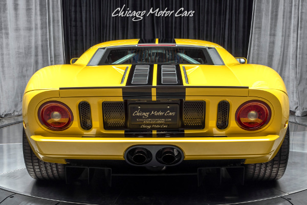 Used-2006-Ford-GT-Only-523-Miles-All-4-Options-Collection-Quality-Super-RARE-in-Yellow