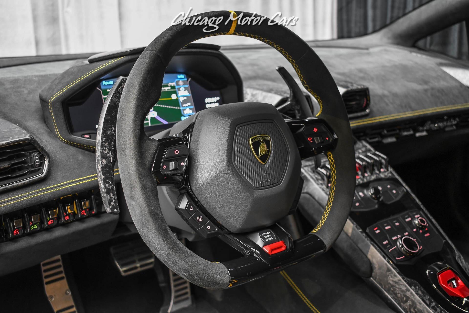Used-2018-Lamborghini-Huracan-LP640-4-Performante-Only-1450-Miles-RARE-1of1-Matte-Viola-30th-SE-Loaded