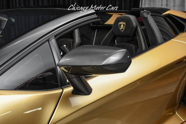 Used-2020-Lamborghini-Aventador-LP770-4-SVJ-Roadster-One-of-a-KIND-Amazing-Spec---Upgrades