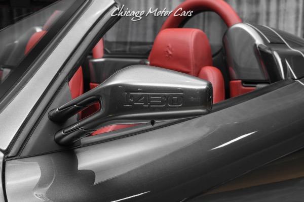 Used-2007-Ferrari-F430-F1-Spider-DAYTONA-STYLE-SEATS--ELECTRIC-SEATS-NEW-CLUTCH-AND-MANIFOLDS