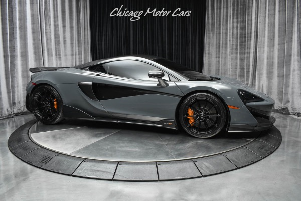Used-2019-McLaren-600LT-Rare-Chicane-Grey-Carbon-Race-Seats-Only-2700-Miles