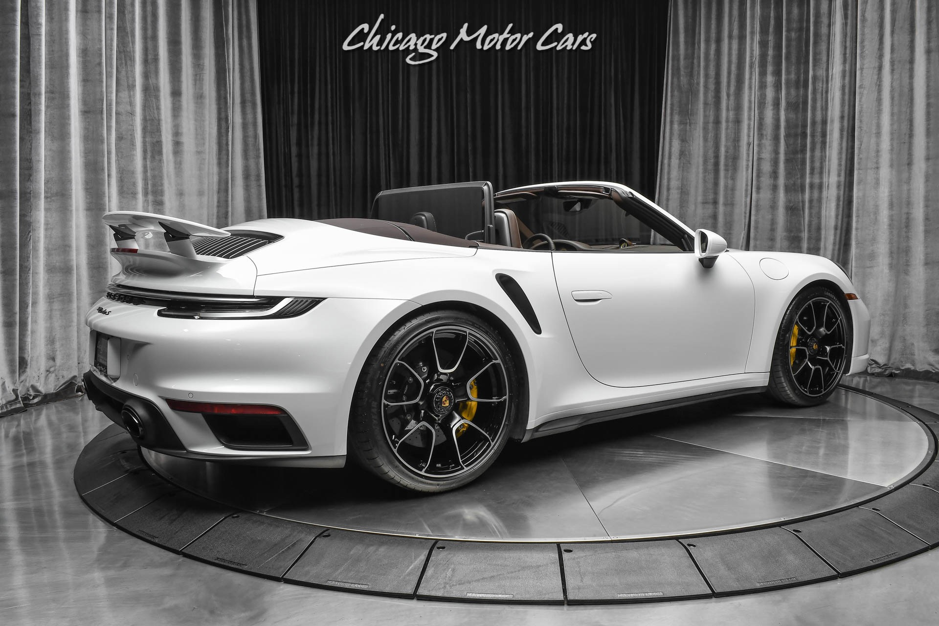 Used-2021-Porsche-911-Turbo-S-Front-Axle-Lift-Sport-Exhaust-Only-990-Miles-Full-PPF