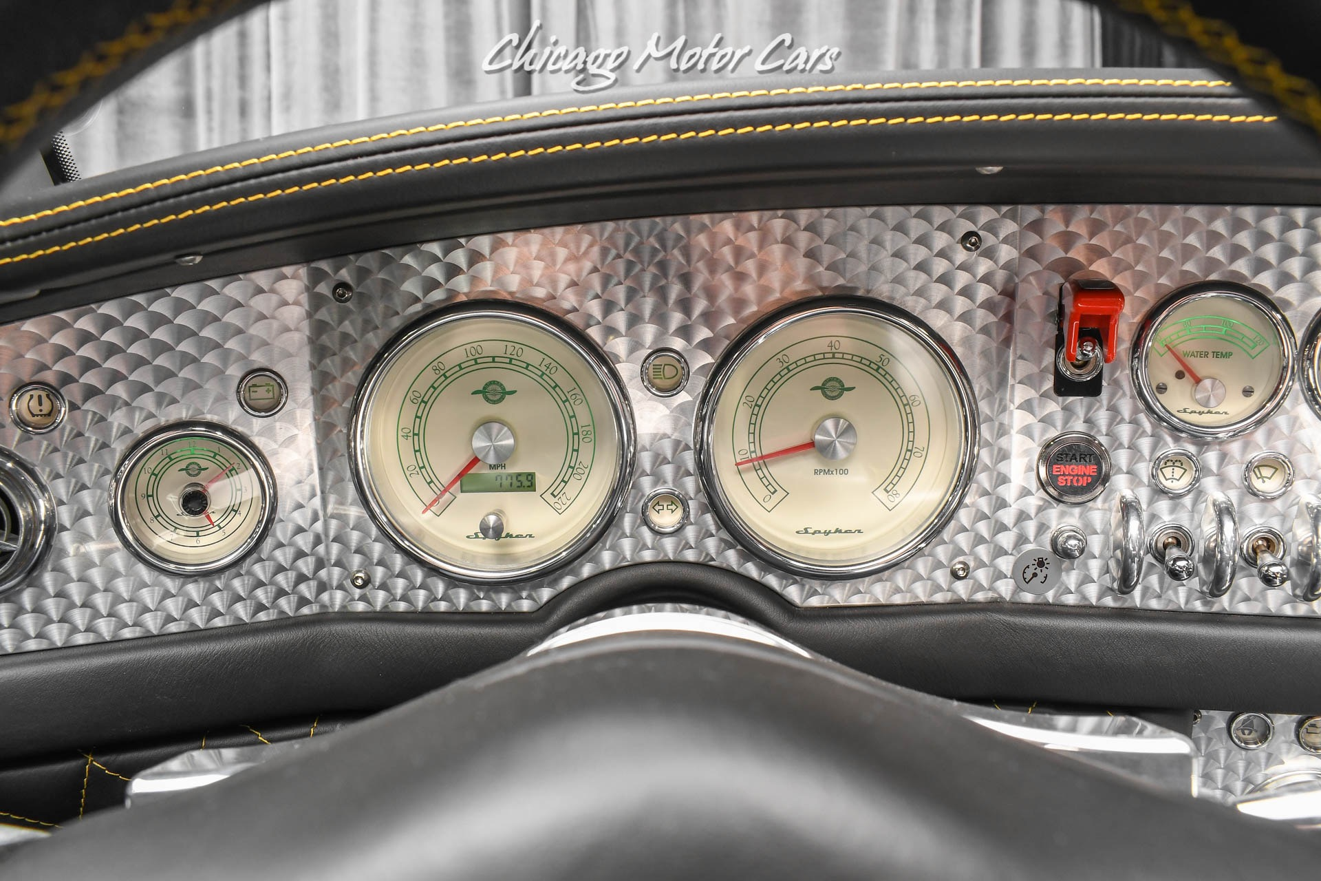 Used-2008-Spyker-C8-Spyder-Only-775-Miles-Collector-Quality-RARE-Perfect-Example