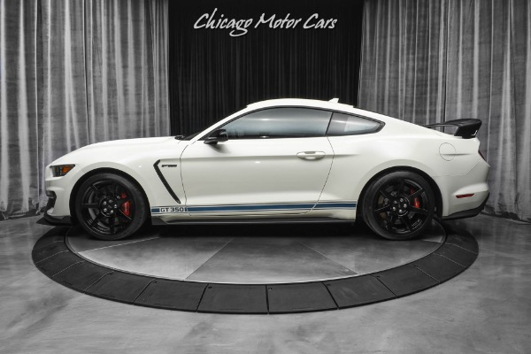 Used-2020-Ford-Mustang-Shelby-GT350R-Fastback-Heritage-Package-Very-Low-Miles-Rare-Wimbledon-White