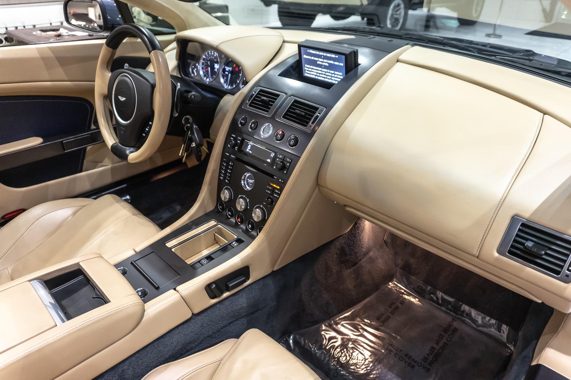 Used-2008-Aston-Martin-V8-Vantage-Roadster-NEW-CLUTCH-SERVICE-RECORDS-NAV-LOADED