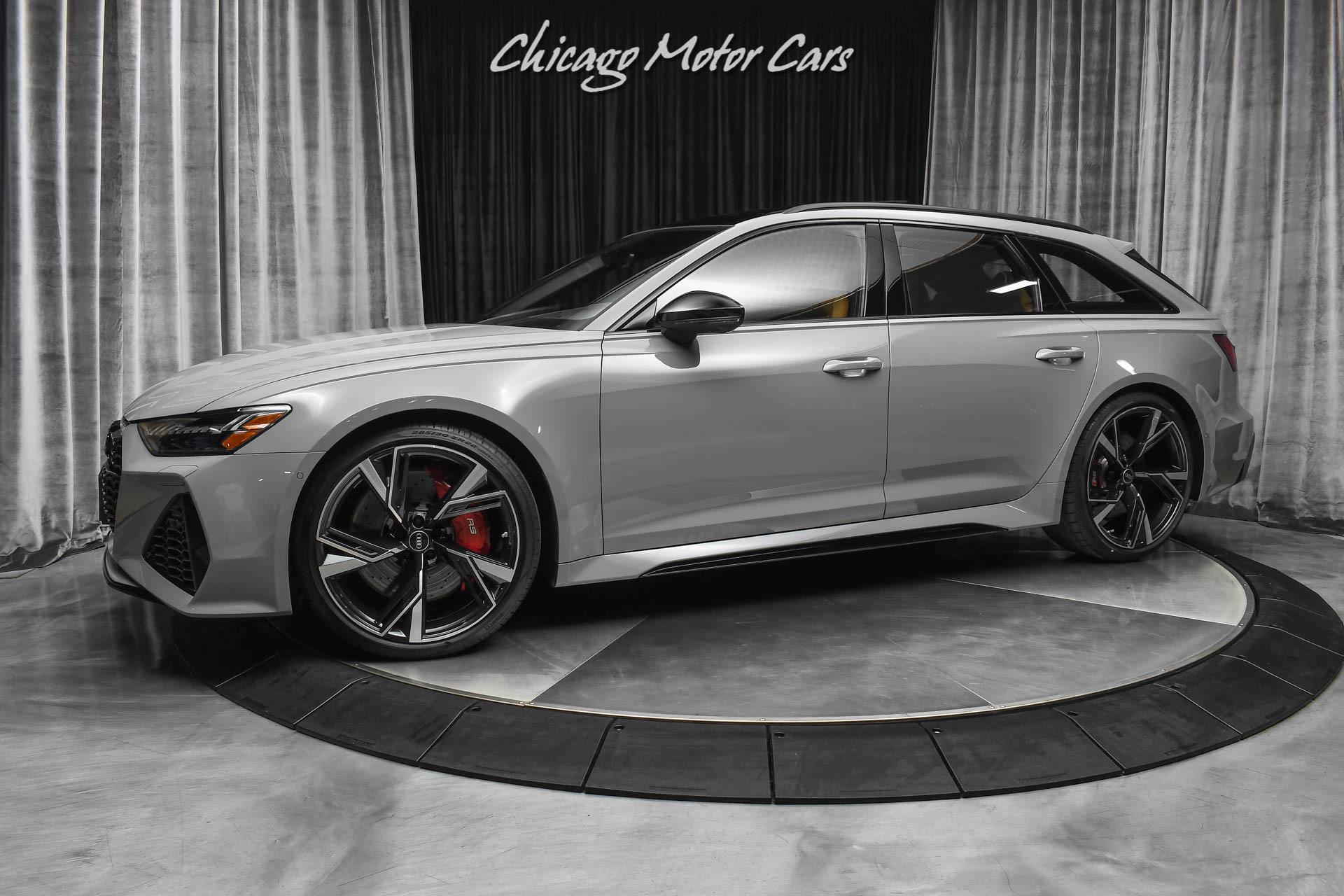 Used 2021 Audi RS6 4.0T quattro Avant RARE Nardo Grey ...