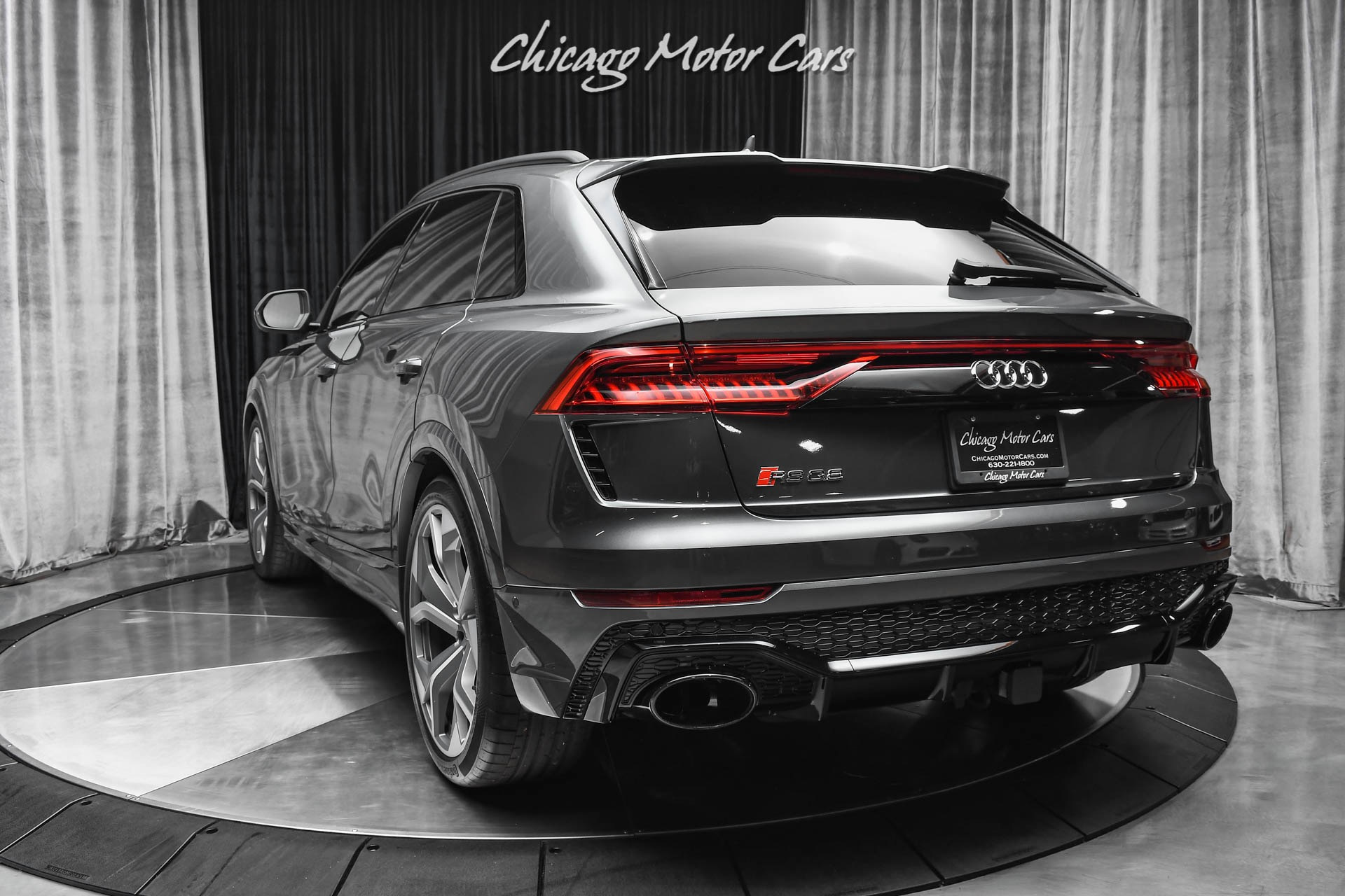 Used-2021-Audi-RS-Q8-40T-quattro-Sports-Exhaust-Driver-Assistance-Package