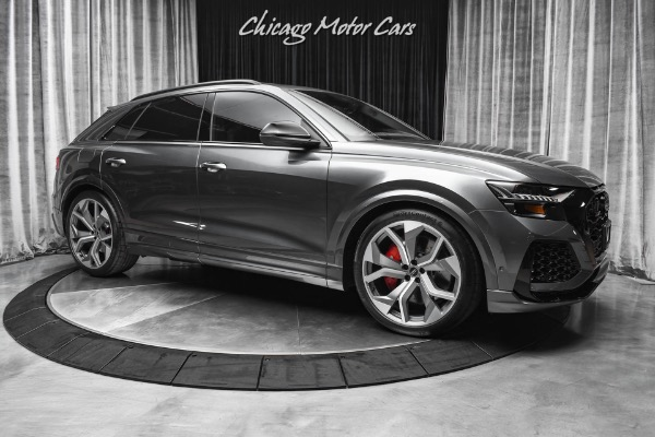 Used-2021-Audi-RS-Q8-40T-quattro-Sports-Exhaust-Driver-Assistance-Package-ONLY-100-Miles