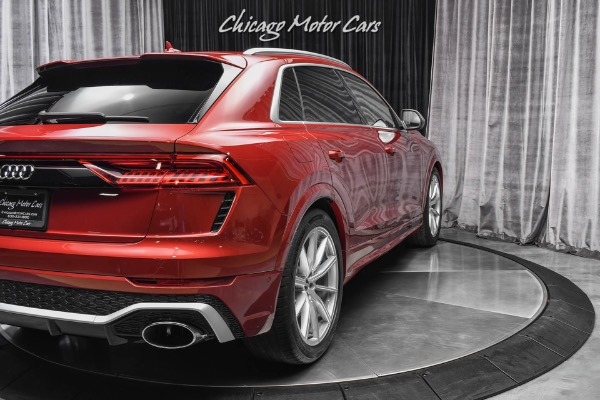 Used-2021-Audi-RSQ8-40T-quattro-RS-Design-Package-RARE-Matador-Red-Only-349-Miles