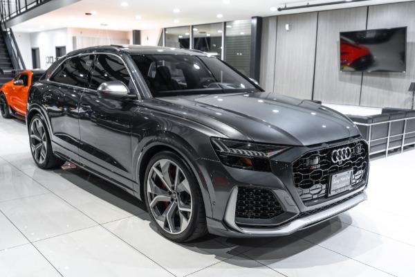 Used-2021-Audi-RS-Q8-40T-Quattro-SUV-B-O-3D-AUDIO-SPORT-EXHAUST-30-MILES
