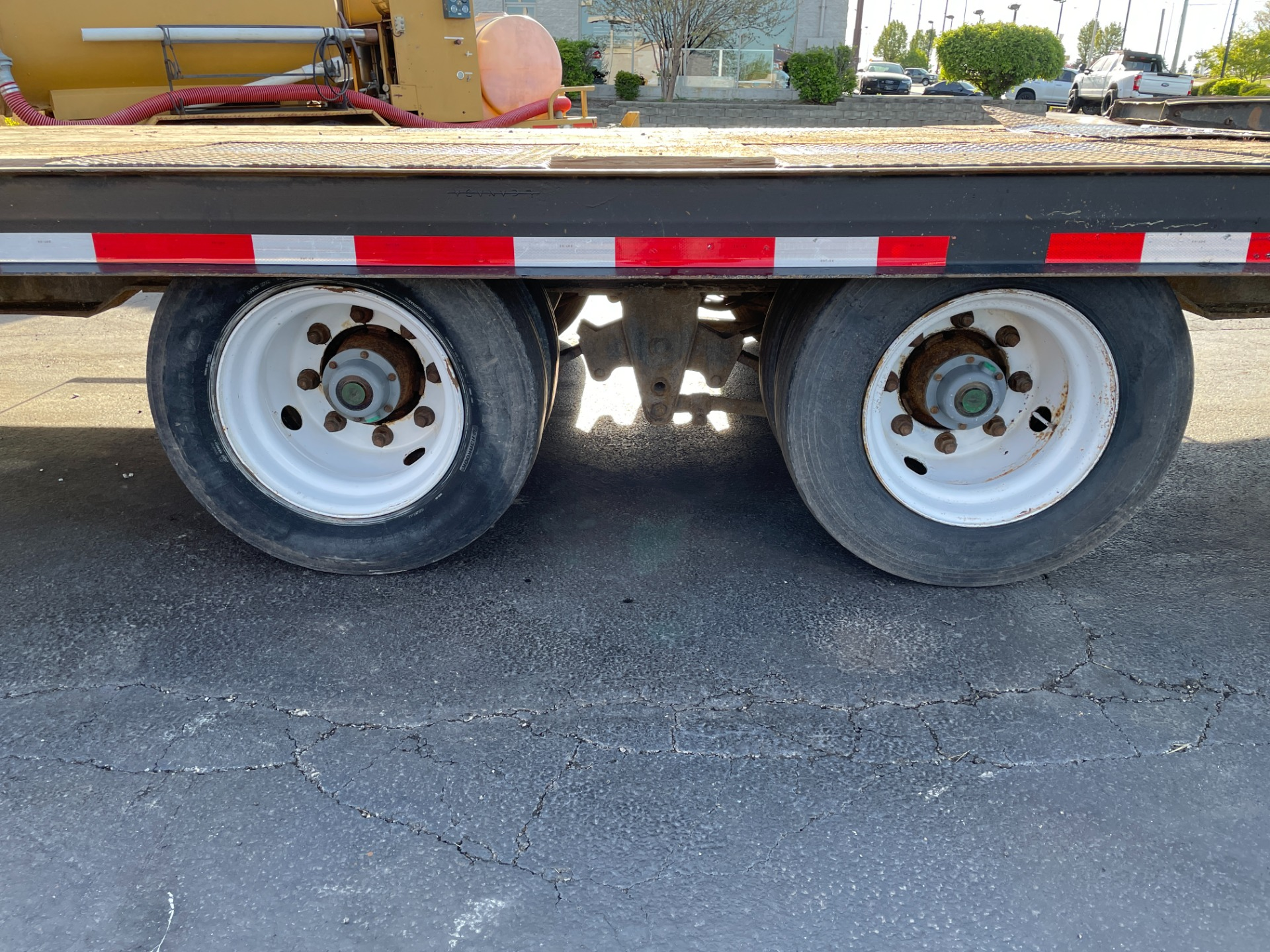 Used-2007-Trail-King-TK40LP-2700-Equipment-Trailer