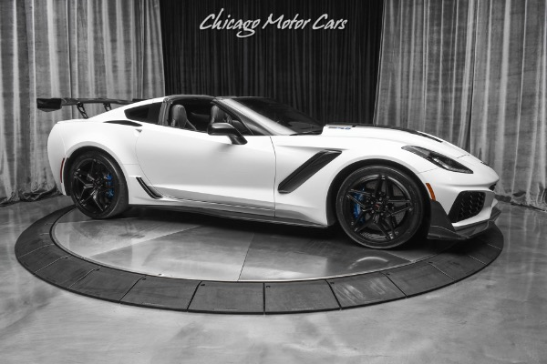 Used-2019-Chevrolet-Corvette-ZR1-3ZR-wZTK-Weapon-X-X900-Package-Stage-3-RARE-Low-Mile-ZR1