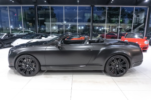 Used-2014-Bentley-Continental-GTC-Speed-Convertible-Only-10k-miles-MATTE-BLACK-WRAP
