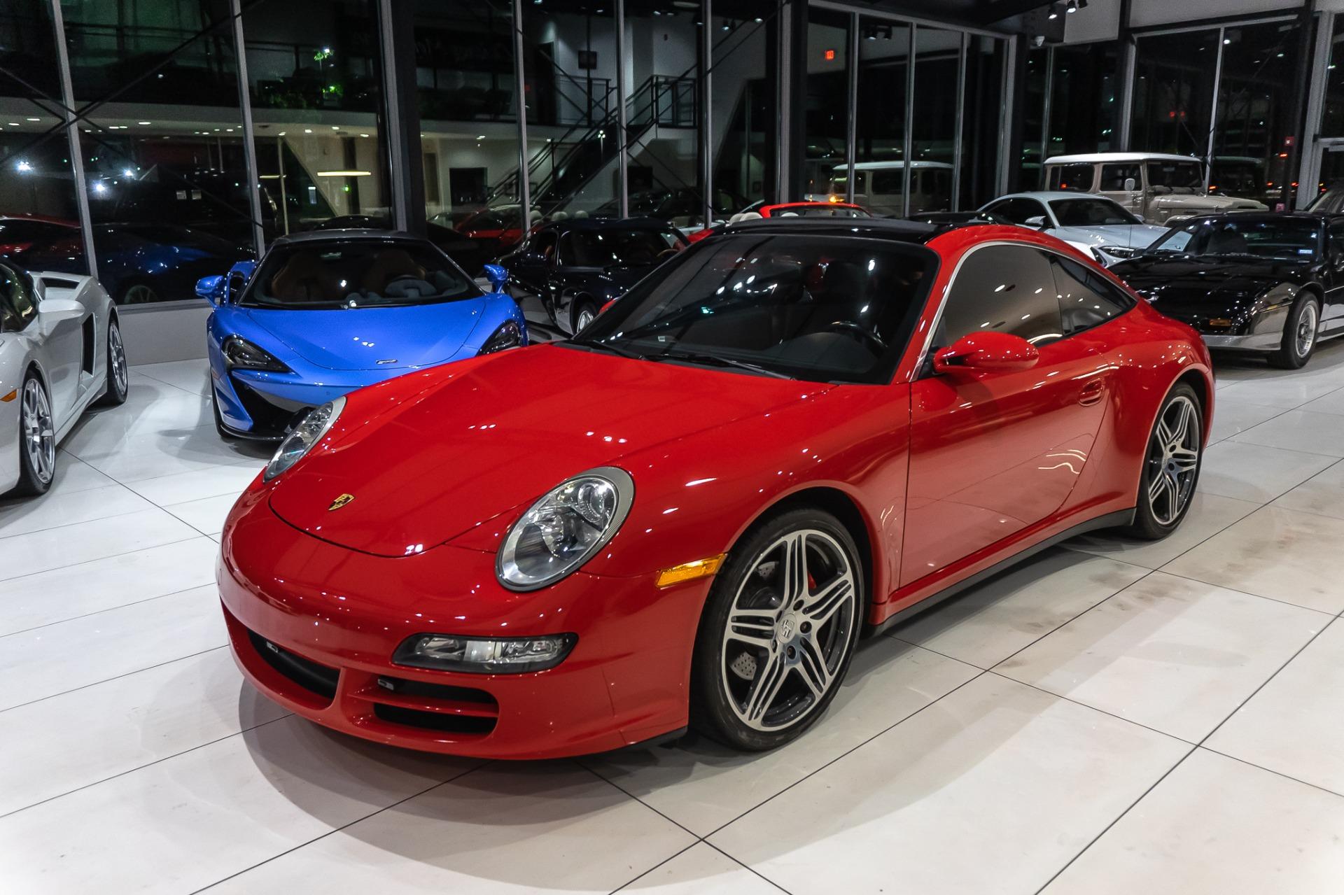 Used-2007-Porsche-911-Targa-4-Coupe-6-SPEED-MANUAL-TURBO-WHEELS-BOSE-SOUND