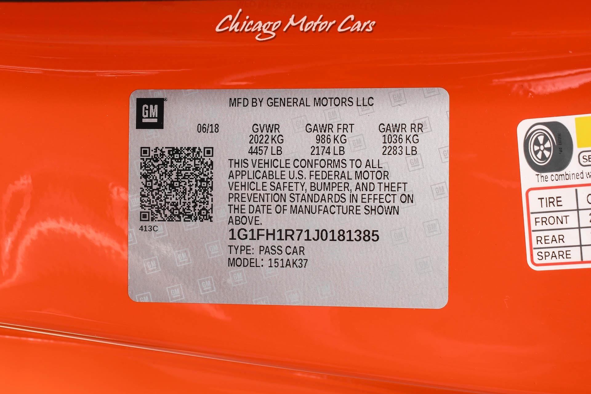 Used-2018-Chevrolet-Camaro-SS-Hot-Wheels-Edition-1500-Miles-Pristine-Condition
