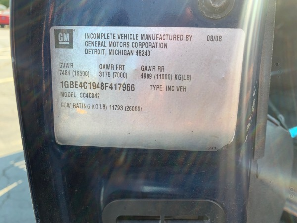 Used-2008-Chevrolet-C4500-Power-Washing-Truck---DURAMAX-DIESEL---AUTOMATIC