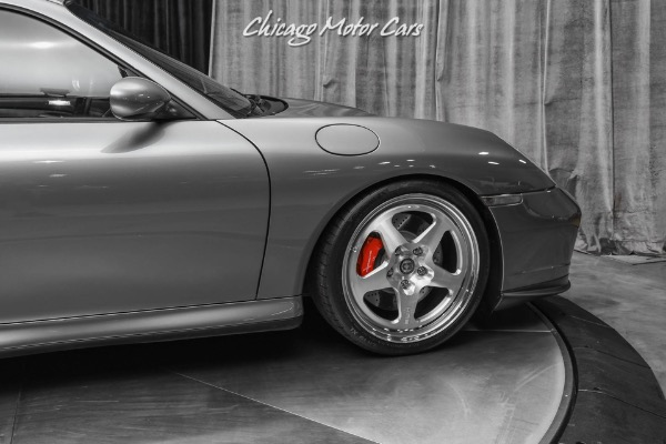 Used-2003-Porsche-911-Turbo-Coupe-6Speed-Manual-Only-17k-Miles-UPGRADES-KLINE-Exhaust-HRE-Wheels