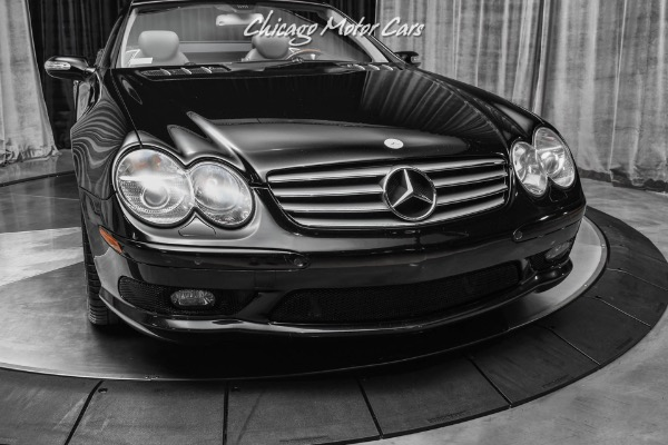 Used-2005-Mercedes-Benz-SL600-55L-V12-Engine-Very-Low-Miles-Pristine-Example-Throughout