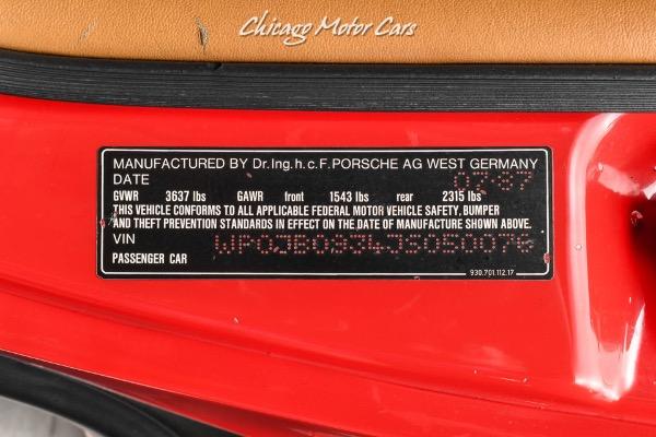 Used-1988-Porsche-911-Carrera-Turbo-1-Original-Owner-Twin-Plug-Serviced-Pristine