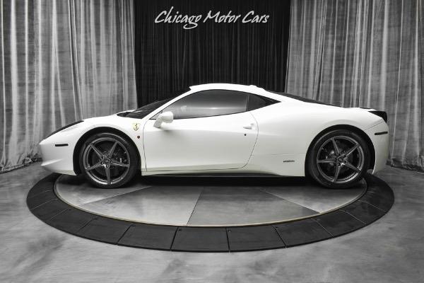 Used-2012-Ferrari-458-Italia-Coupe-Only-17k-Miles-Carbon-Fiber-LED-Steering-Wheel-Racing-Seats