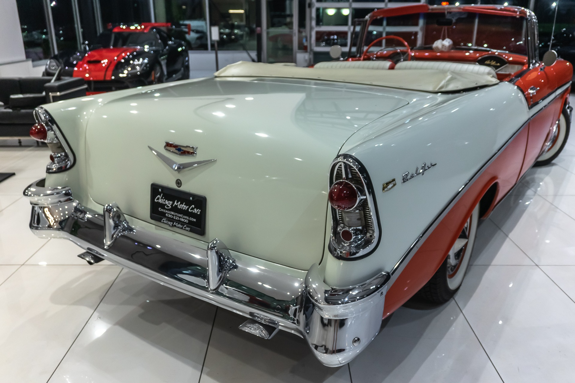 Used-1956-Chevrolet-BelAir-Convertible-Ground-Up-Restoration-265-V8-POWER-TOP