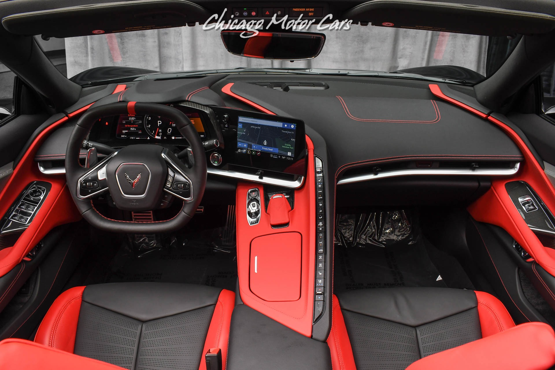 Used-2021-Chevrolet-Corvette-Stingray-Convertible-Z51-Carbon-Fiber-LOADED-Only-300-Miles-PPF-Installed