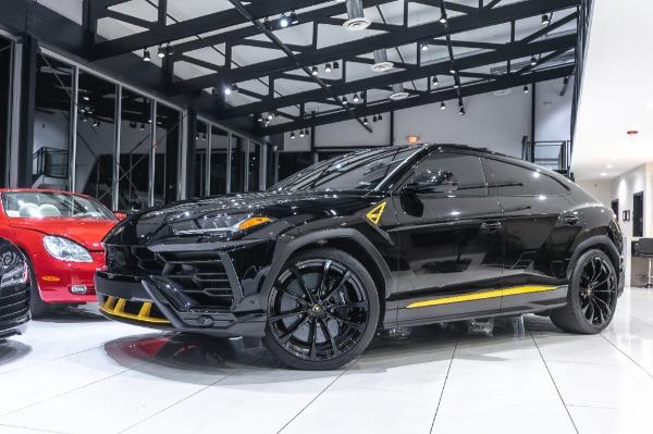 Used-2021-Lamborghini-Urus-SUV-AWD-TAIGETE-23s-LOADED-Full-Front-PPF--Custom-Exhaust