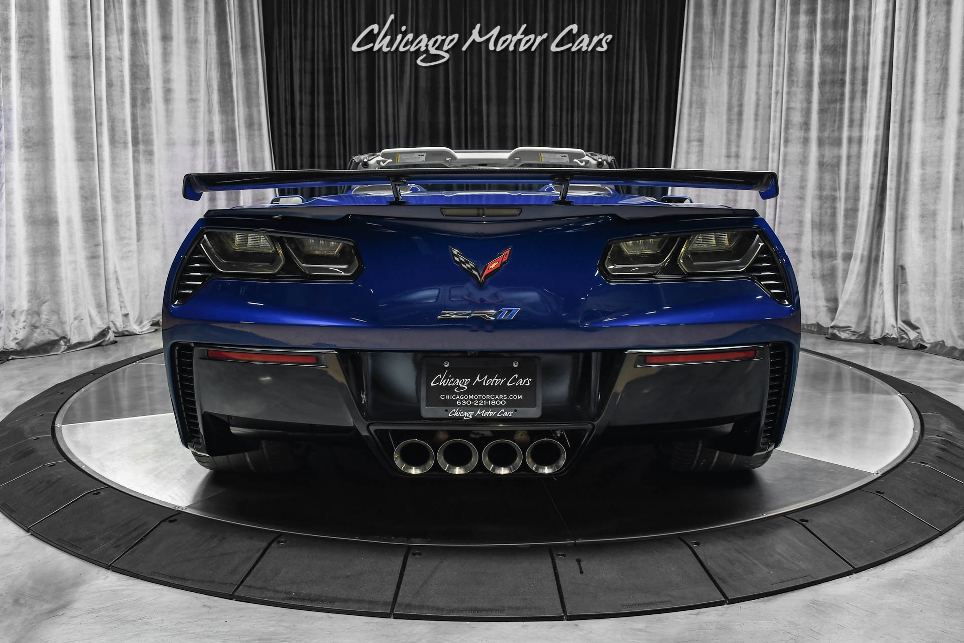 Used-2019-Chevrolet-Corvette-ZR1-3ZR-Convertible-Extremely-Rare-Color-Admiral-Blue-Metallic