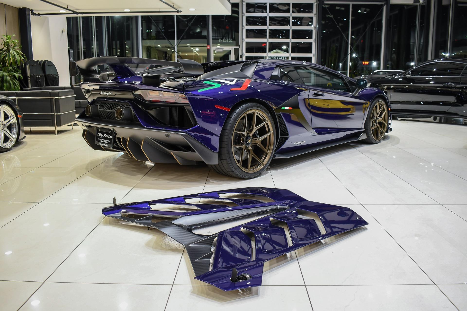 Used-2019-Lamborghini-Aventador-LP770-4-SVJ-Exclusive-Ad-Personam-Viola-Aleteia-Huge-MSRP-Full-Body-PPF