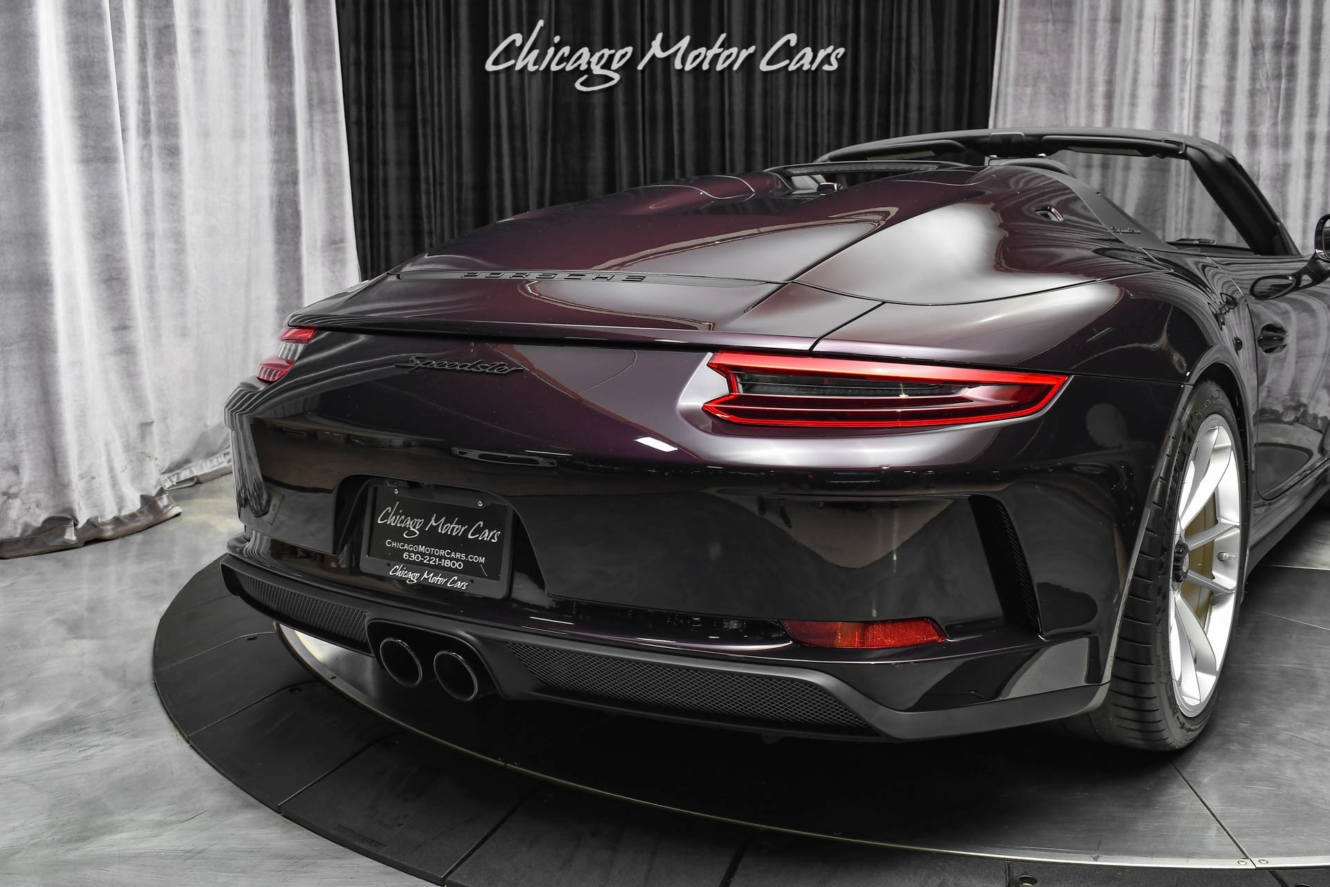 Used-2019-Porsche-911-Speedster-RARE-PTS-AMETHYST-METALLIC-Front-Axle-Lift-Limited-Production