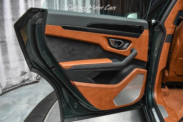 Used-2021-Lamborghini-Urus-SUV-Rare-Color-Combo-Terra-Asia-Interior-ONLY-300-Miles