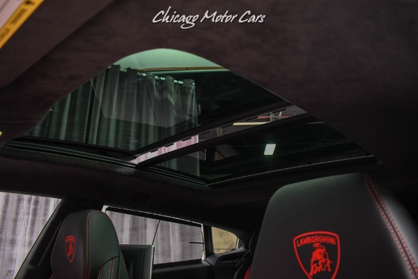 Used-2021-Lamborghini-Urus-SUV-HUGE-MSRP-LOADED-Full-PPF-RARE-Paint-Akrapovic-Exhaust