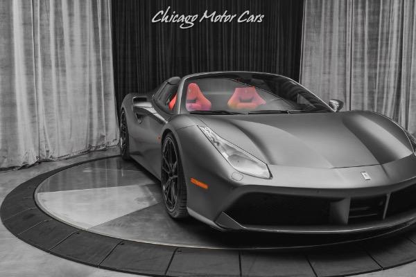 Used-2018-Ferrari-488-Spider-Convertible-Only-2k-Miles-Carbon-Fiber-Everywhere-NOVITEC-Upgrades