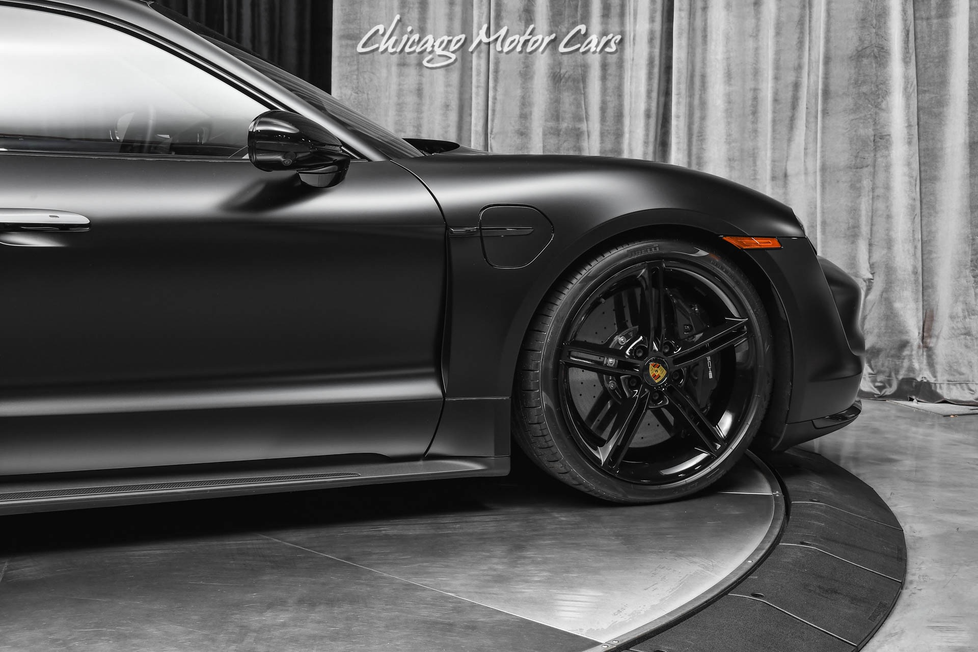 Used-2021-Porsche-Taycan-Turbo-S-Only-1k-Miles-Premium-Package-Full-Stealth-PPF-LOADED