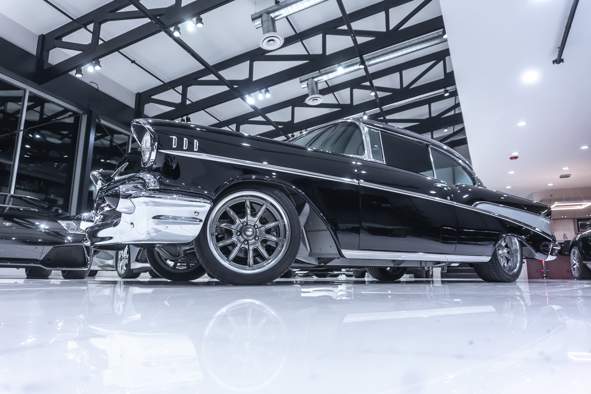 Used-1957-Chevrolet-BELAIR-2-DOOR-Coupe-Restomod-L98-350ci-Only-400-MILES-SINCE-FRAME-OFF-RESTO