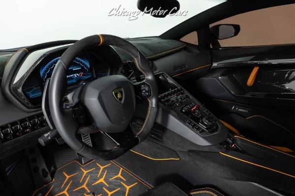 Used-2019-Lamborghini-Aventador-LP770-4-SVJ-Coupe-RARE-Grigio-Telesto-Hot-Color-Combo-SV-Interior-Upgrade