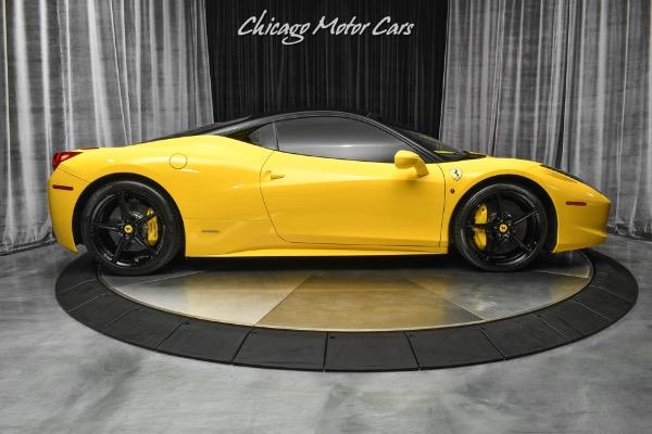 Used-2013-Ferrari-458-Italia-Coupe-CARBON-Fiber-LED-Steering-Wheel-LOADED-Serviced