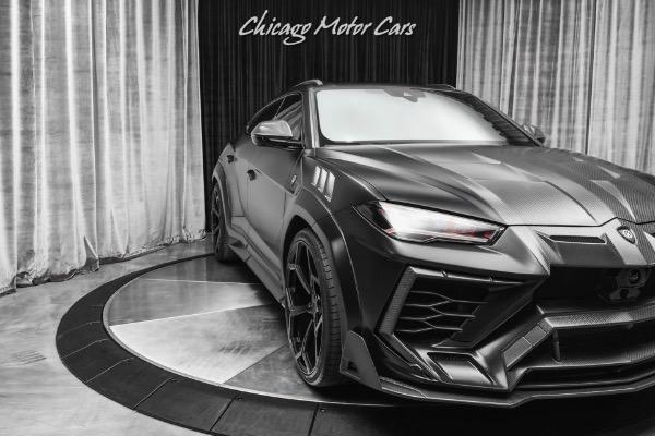 Used-2020-Lamborghini-Urus-SUV-Matte-Black-Brand-New-Build-MANSORY-WideBody-Carbon-Fiber