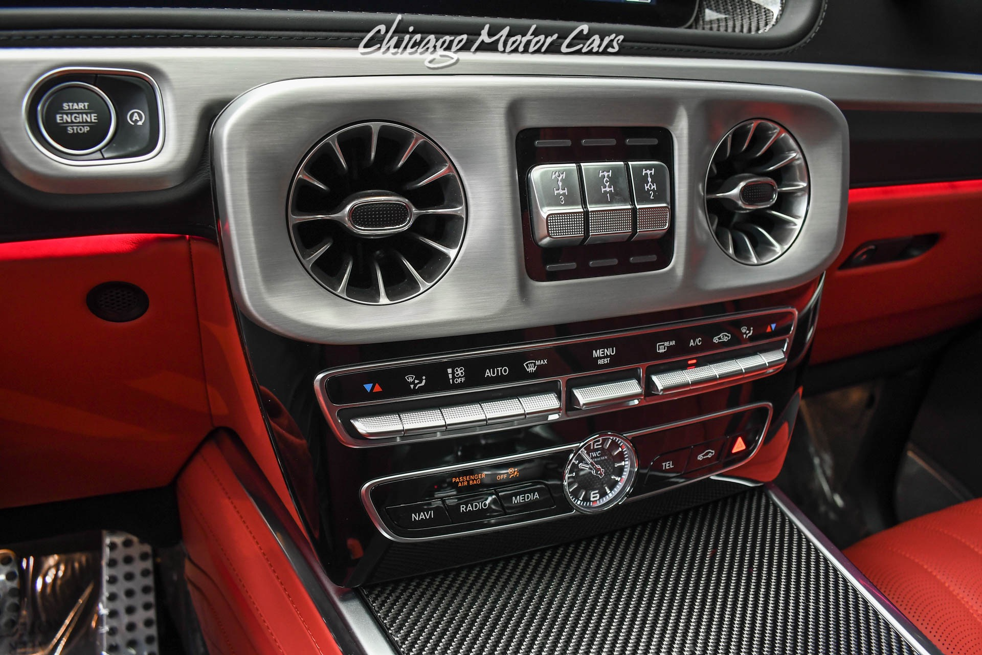 Used-2021-Mercedes-Benz-G63-AMG-SUV-Factory-Matte-Black-Red-Interior-Carbon-Fiber-Exclusive-Pack-LOADED