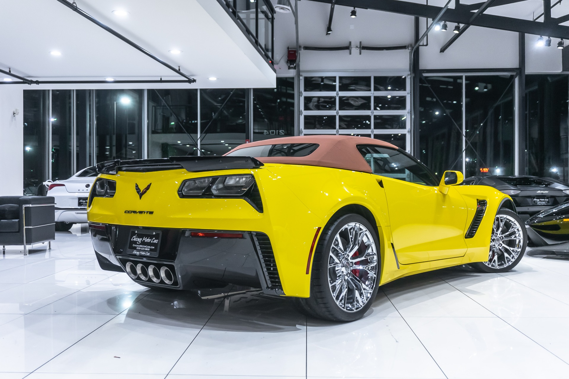 Used-2016-Chevrolet-Corvette-Z06-Convertible-3LZ-7-Speed-Manual-Racing-Yellow-ONLY-1K-Miles