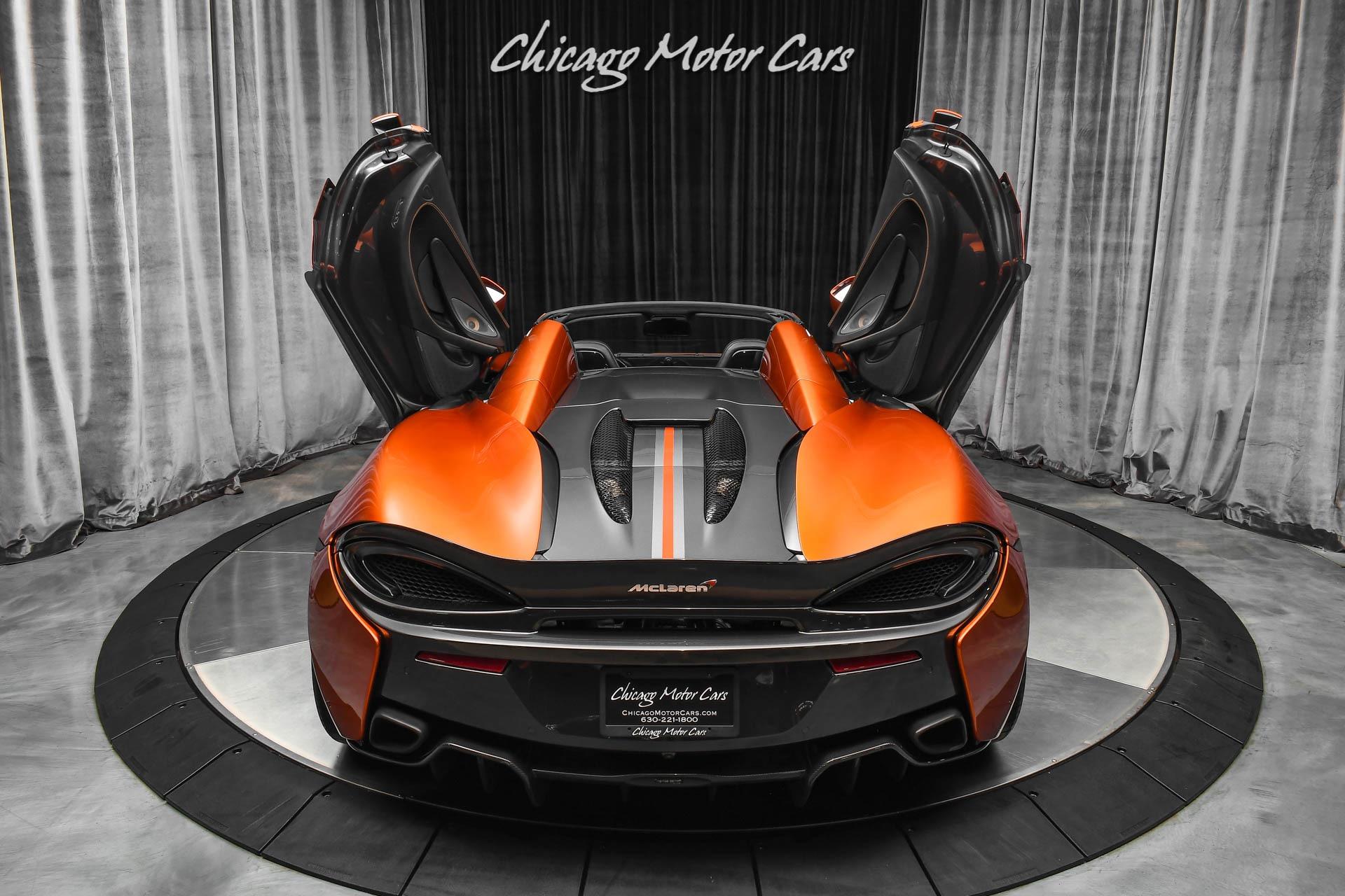 Used-2018-McLaren-570S-Spider-Convertible-Only-11k-Miles-Serviced-Volcano-Orange